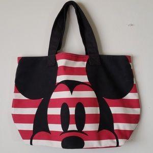 Mickey Minnie Canvas Tote
